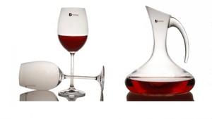 原装欧洲进口捷克Duende无铅水晶杯 红酒杯 醒酒器 礼盒套装 包邮