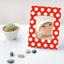 Personality Lomo Card postcard DIY custom creative magnet sticker iron box rack small Gift Red Series