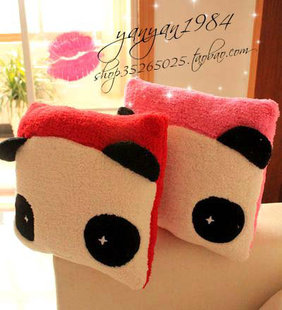 2012 cartoon panda couple bandage cushion office cushion cushion pillow cushion pillow