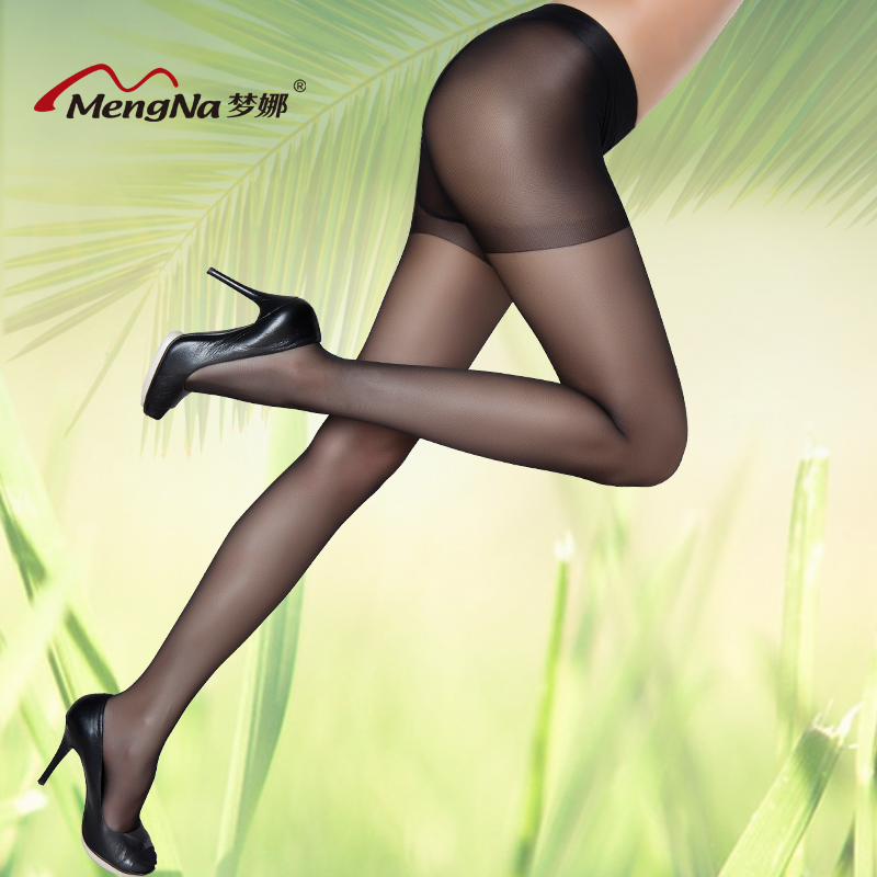 e05233dd9c954 Free shipping Mona stockings rompers anti hook wire bottoming socks  invisible socks spring and summer thin. Loading zoom