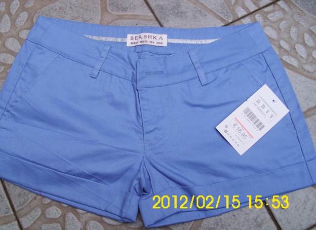 Бренд blue горячие брюки шорты леггинсы не упругие предложил большего размера