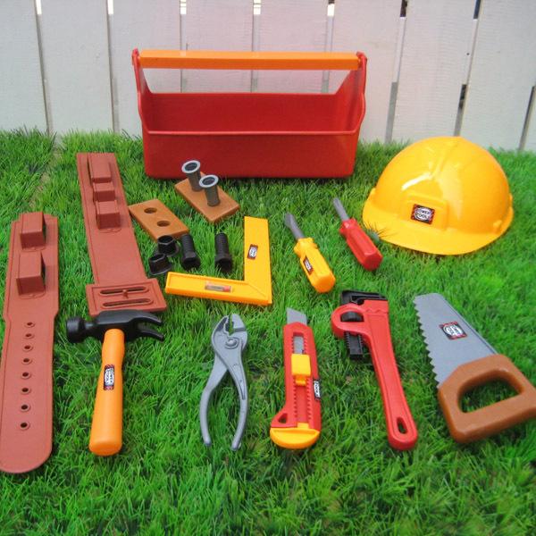 过家家玩具 儿童工具套装 仿真维修工具箱 巴布工程师 锤子 扳手