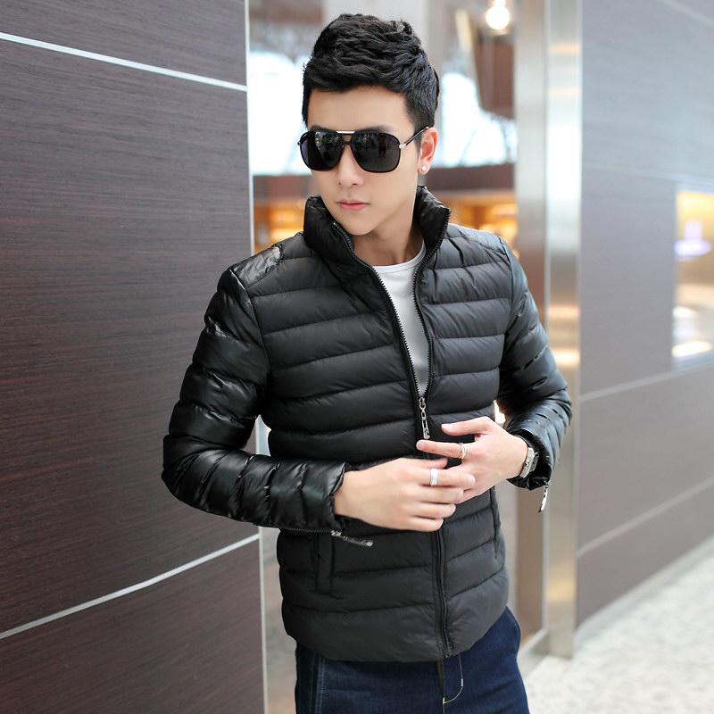 Тонкий тонкий Зимняя куртка Пальто мужские пальто мужчин Chao корейской версии молодых тонкий слой Распродажа мужской пиджак досуг