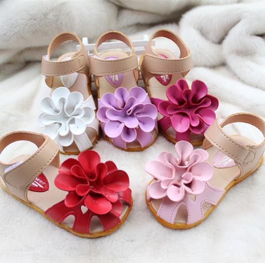 2014 летом новый большой цветок ребенка принцесса обувь сандалии в Баотоу, сладкий корейских девочек сандалии обувь Детская обувь