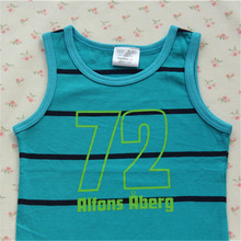 Special offer 2014 summer small foreign trade Nordic cotton cuhk child vest knitted cotton at the age of 123, 100, 110, 120
