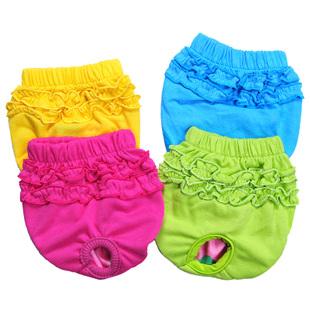 Cheap anti harassment physiological pants dog small dog pulling pants pants pet clothes dog clothes