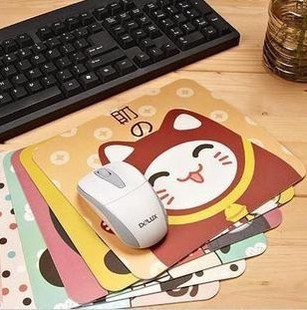 Lele home Korea stationery office sub Nai An ancient game cartoon girl slip mouse pad wrist pad