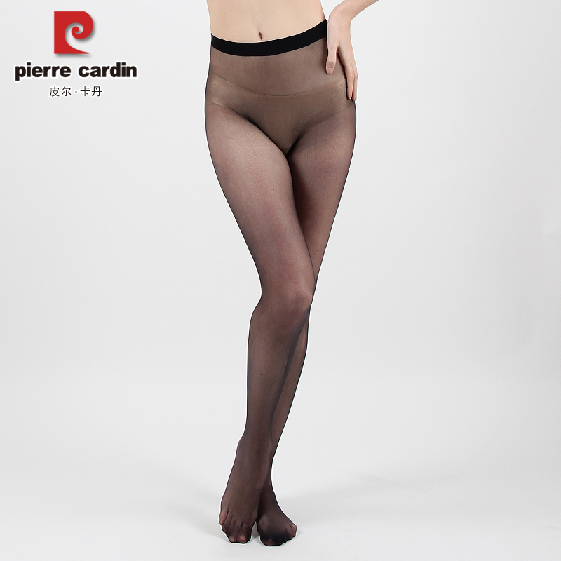 b60a43028aa2c Pierre Cardin Seamless stockings female generation extreme ultra-thin  transparent sexy pantyhose invisible PC38007
