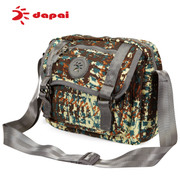 Dapai Korean small baodan shoulder bags diagonal men fashion leisure male chest Pack man purse Crossbody bag backpack