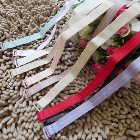 糖果色文胸双肩带 韩国时尚彩色内衣带 防滑胸罩带子 布肩带