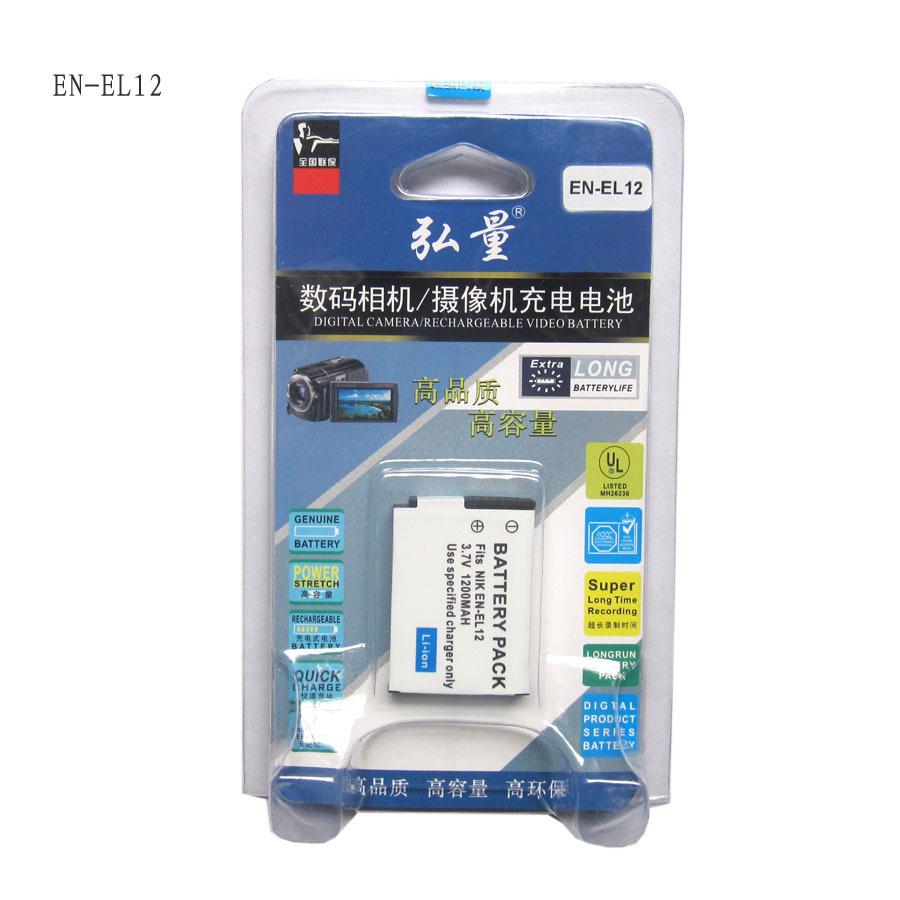 弘量 尼康P300 P310 S8200 S9100 S9200 S6200 S6300电池EN-EL12