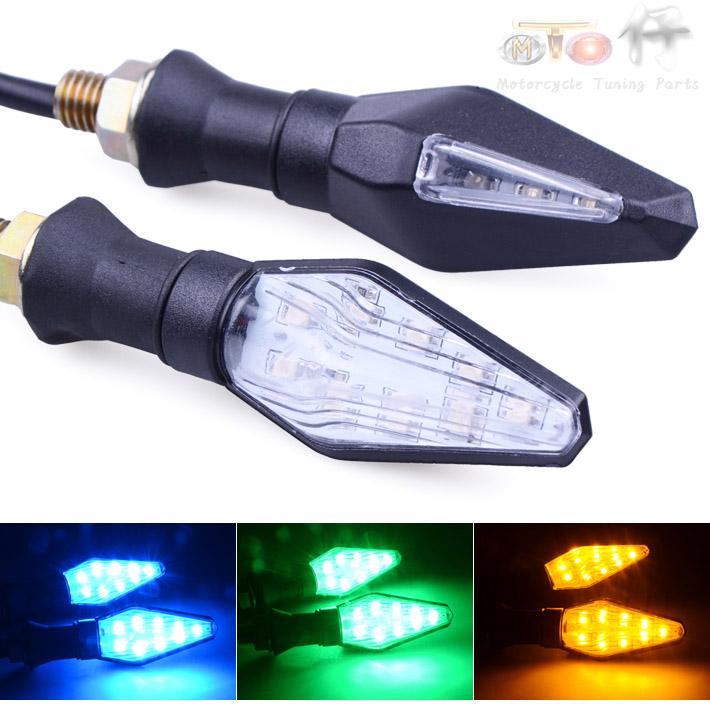 Г лампа LED Освещение декоративное освещение сигнала поворота аксессуары 12V пожар мотоцикл сигнала поворота