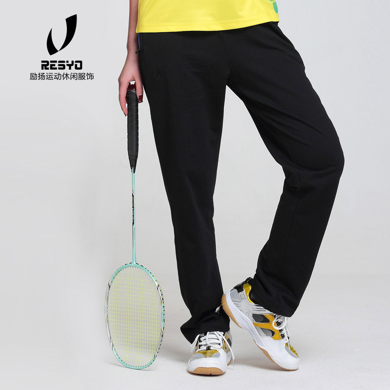 Summer thin womens sports pants sweat absorption, quick drying and ventilation competition training badminton pants package