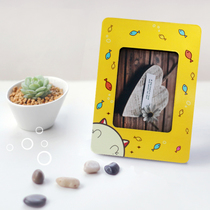 Personality Lomo Card Magnet Sticker Photo Frame creative Small gift postcard DIY customization