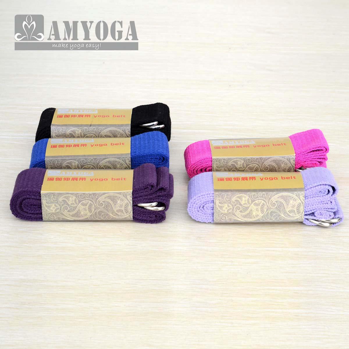 涤棉加长艾杨格初学者 拉筋瑜伽伸展带 瑜伽用品辅助瑜珈拉伸带