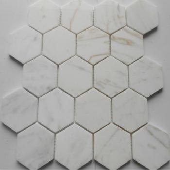 現代ジャズ白石石材マルセイユセク天然大理石カラホワイトトイレ床れんが