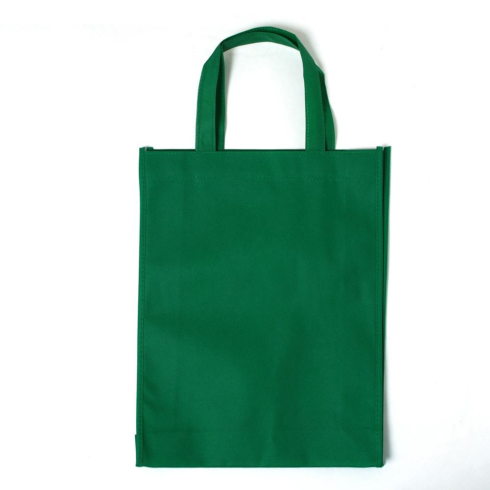 无纺布购物袋礼品袋环保袋收纳袋果绿色特价家庭热销纵向中号手绘