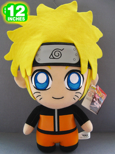 Naruto Uzumaki Naruto eyes Watergate son cartoon plush doll doll gift