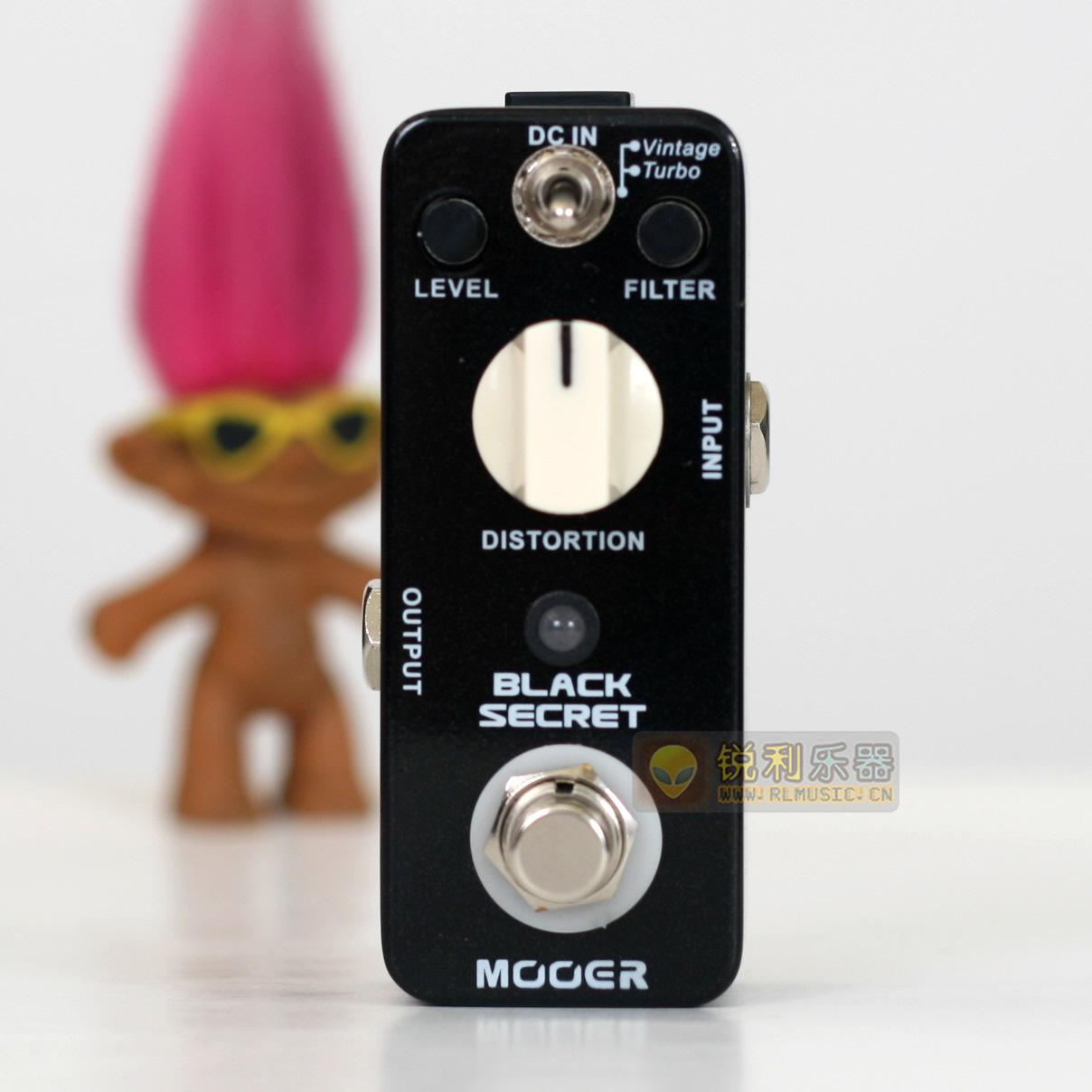 【Mooer Black Secret】魔耳 RAT 失真效果器【锐利乐器】