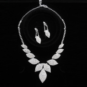 Honey because the new popular wedding necklace earrings set wedding necklace necklace-