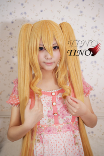 Rozen Maiden really red double tail cos wig high temperature wire wig Dian Tino