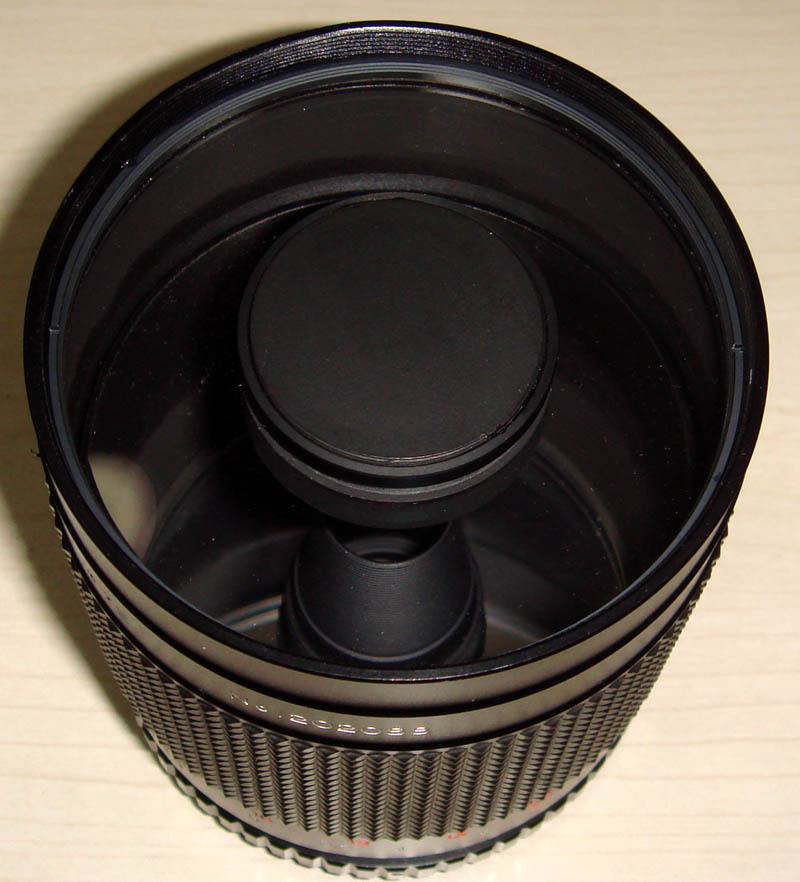 韩国CENTON牌500mmF8折反射镜头