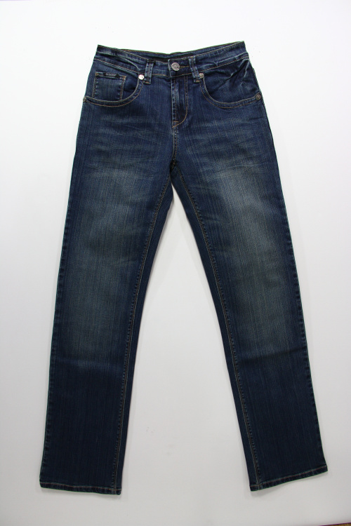 Small magic fish mens elastic comfortable fashion straight jeans large 312158 package