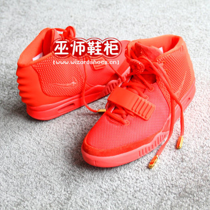 巫师鞋柜 AIR YEEZY 2 RED OCTOBER kanye west 坎爷 红椰子