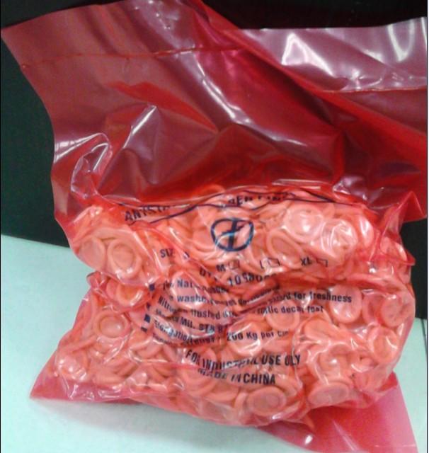 Антистатическая патч-кровать желтый Страхование трудоспособного одноразового латексного каучука утепленный Набор для пальцев 450 г