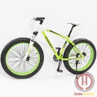 21-speed Front Suspension Snow Bike Beach Cruiser Bicycle