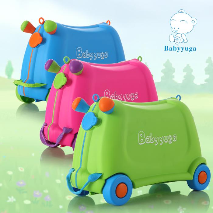 Ребенок чемодан ребенок багажник ребенок род коробки может сидеть может поездка торможение игрушка коробка ребенок багажник