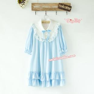 Strawberry Witch LOLITA dress Meng Department of lovely doll chiffon dress solid color series Type A