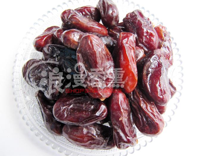 新疆特产伊拉克进口黑椰枣蜜枣香甜而不腻新疆椰枣蜜饯3斤包邮