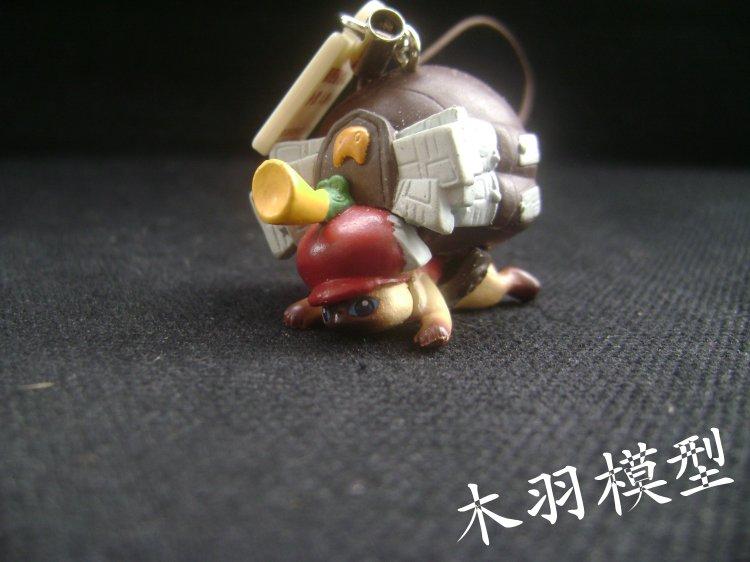 Monster Hunter twisted Egg Pendant mobile phone hanging rope postman colorful bird hat elocat