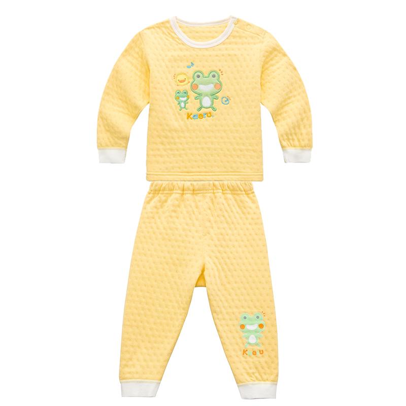 黃色小鴨 哈皮蛙 肩開套裝 內衣套裝 510004