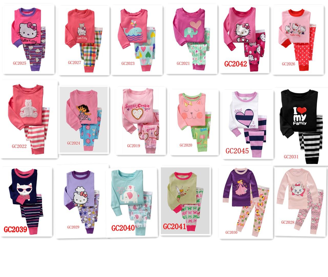 к 2015 году новых внешней торговли GAPOK весной и осенью Детская одежда из хлопка костюм девочек детские пижамы падение одежды кальсоны