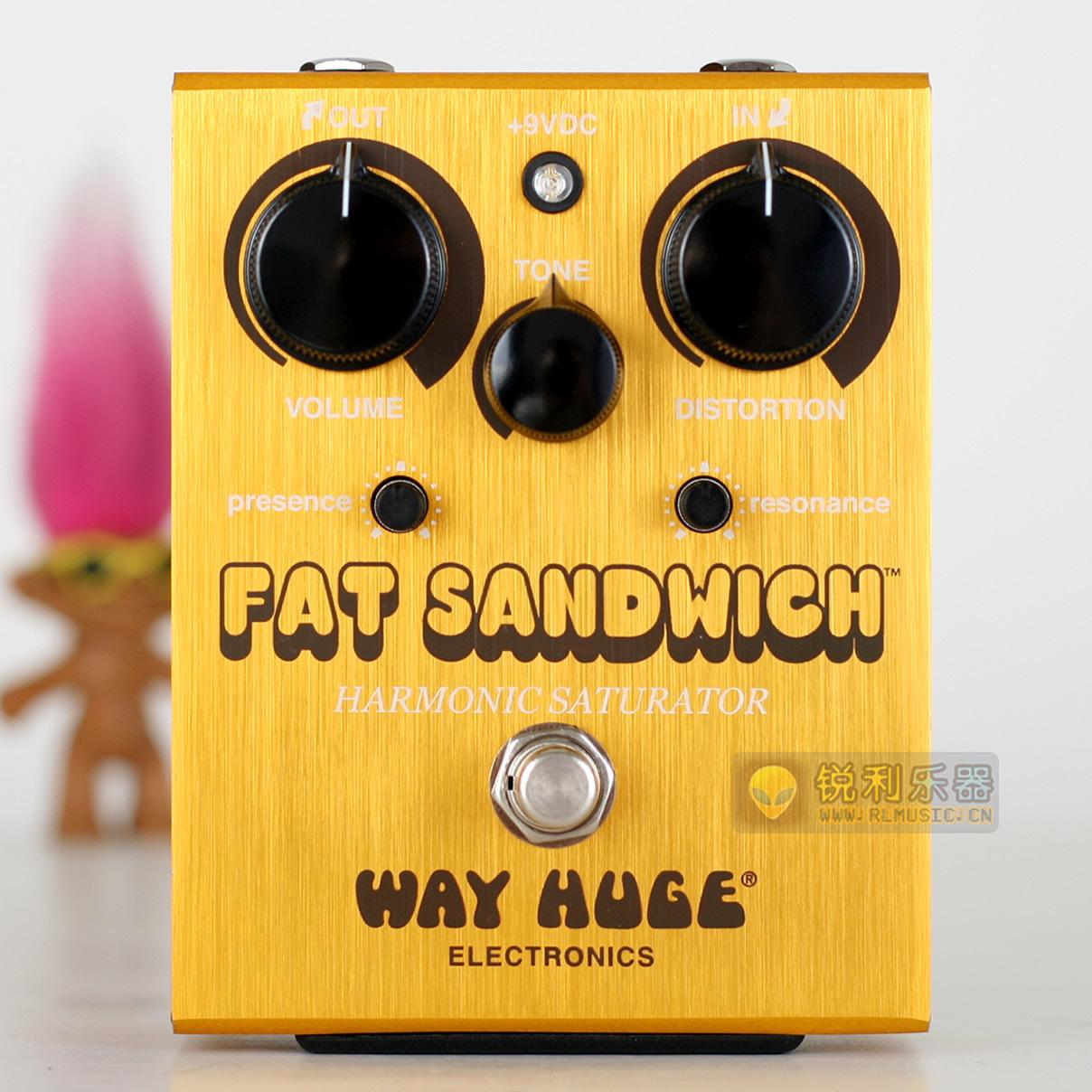 【Way Huge WHE301 Fat Sandwich】失真效果器【锐利乐器】