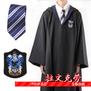 Harry Potter magic robe Ravenclaw College uniforms COS costume cloak magic clothes unisex
