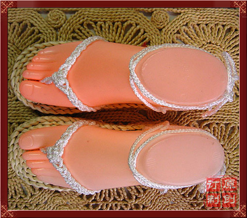 Package death straw shoes cos custom Cosplay accessories shoes childrens dance performance handmade fashion