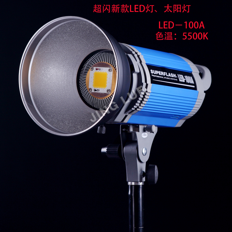 The new LED-100A LED super flash lamp light photography video camera lights children portrait