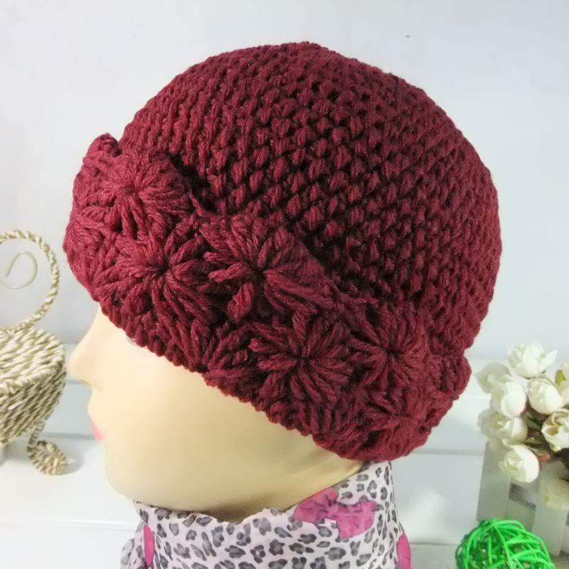 Zoomstreet вяжем спицами женские шапки для пожилых