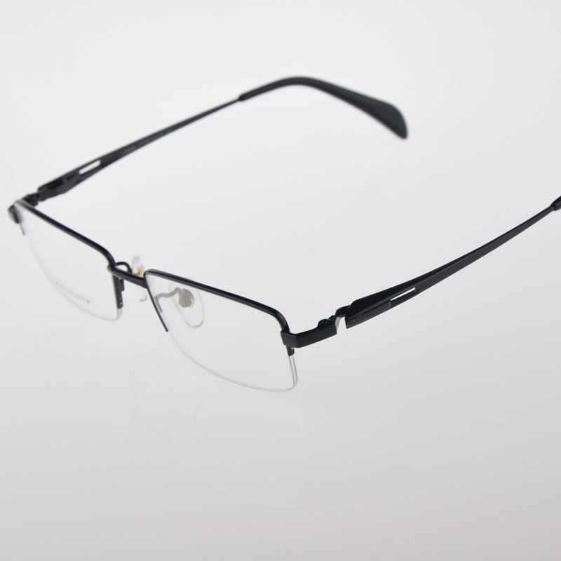 Mens new fashion glasses frame pure titanium full frame myopia with glasses special frame sales