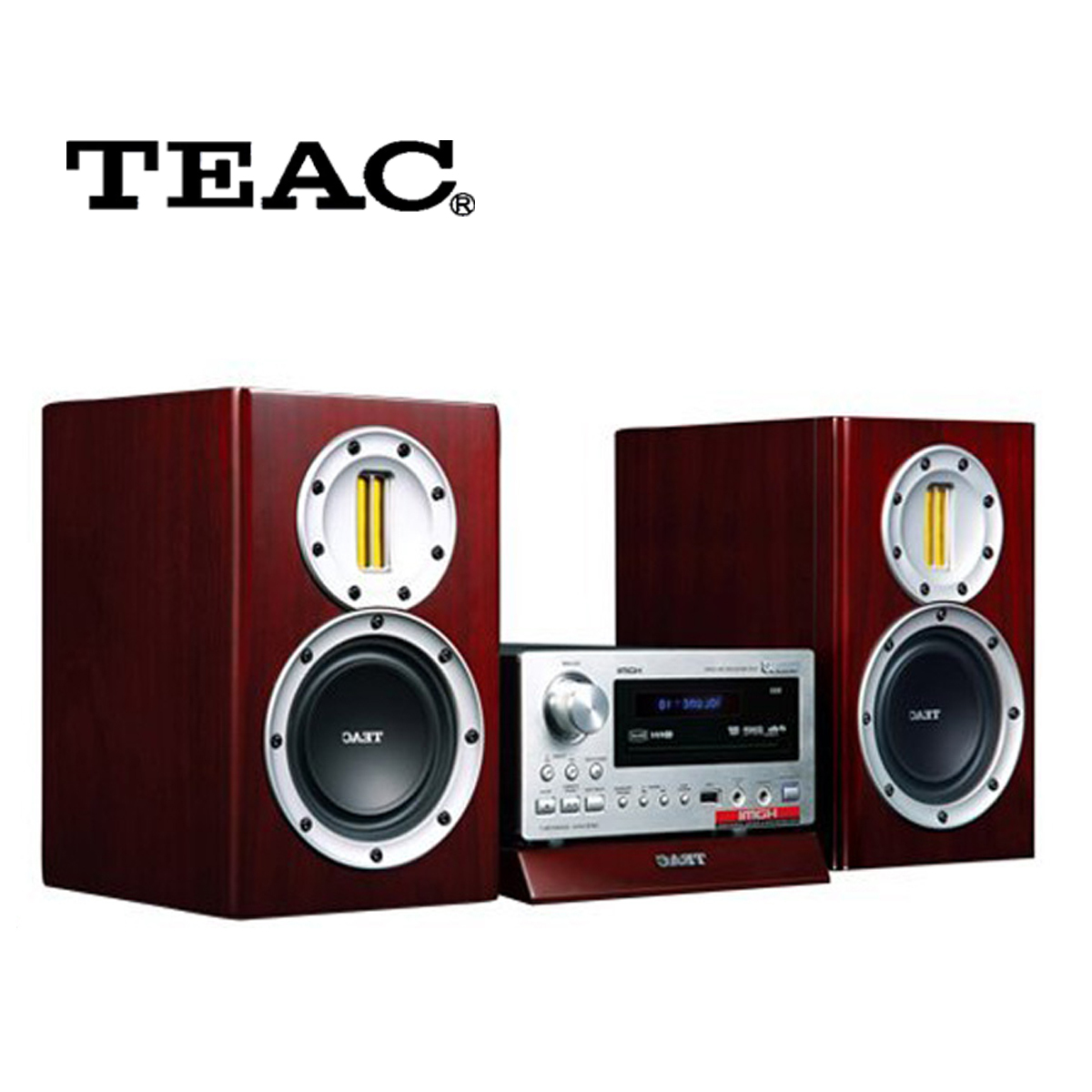 Teac /first acoustic TC-500D Japan boombox speaker HIFI HD cable TV