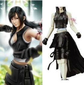 Han language anime cosplay costume Final Fantasy VII Tifa cos