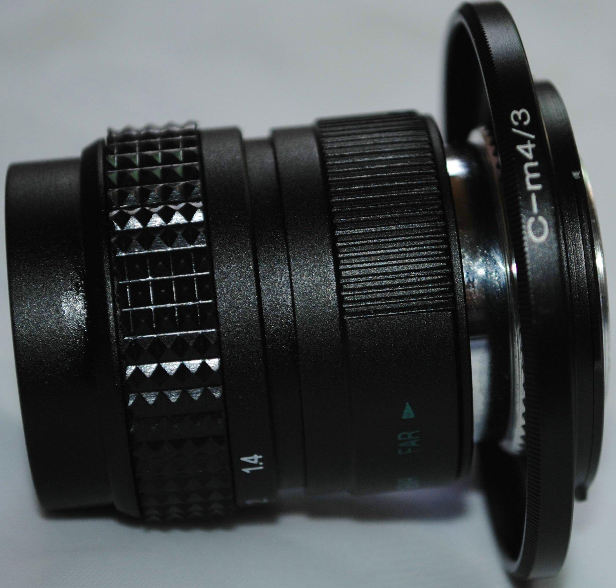 CCTV LENS 25mm F1.4 фильм глава / серебро против черный /C-Mount рот объектив /Lomo бесплатная доставка