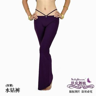 Belly dance clothing belly dance pants Square Dance Apparel Square Dance Latin dance pants pants pants rhinestones
