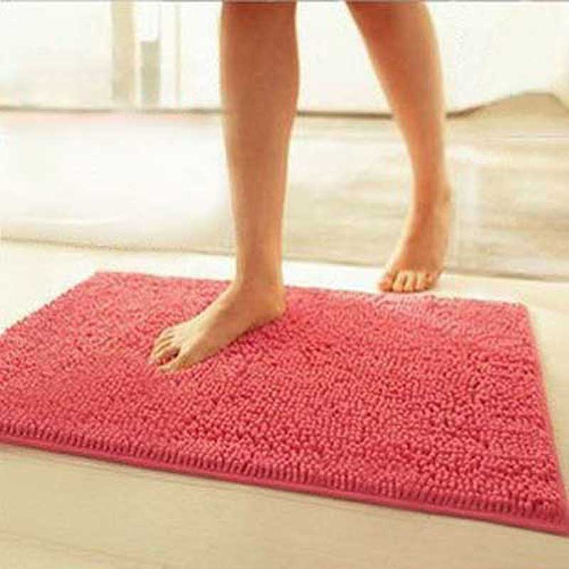 Синель двери воды ноги коврик для ванной коврик заказной ванной комнаты журнальный столик Ковер Коврик