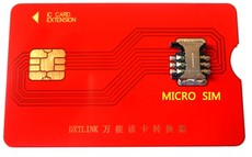 Слот для SIM-карты Dxtlink IPHONE4s MICRO-SIM