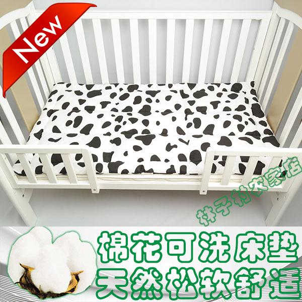 Кровать для младенца постельные пренадлежности матрас ребенок кровать матрас новорожденных магазин подушка чистый хлопок, тонкий хлопок колодка не съемный желчь стирающийся стандарт