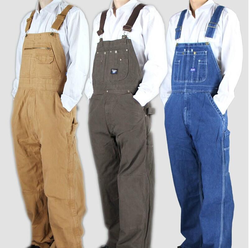 Почта страхования торговли джинсовый комбинезон холст три цвета необязательно износостойких Авто ремонт, Сварка штаны комбинезона